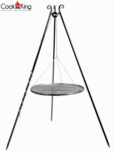 Schwenkgrill 180 cm - Grillrost aus Rohstahl Ø 50-80 cm