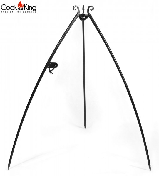 Dreibein Grillgestell Höhe 200cm